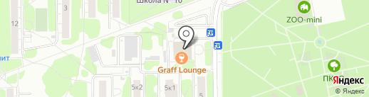 Хинкальная на карте Долгопрудного