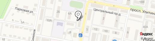 Город мастеров на карте Первомайского
