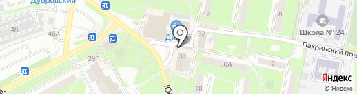 Каравай СВ на карте Подольска