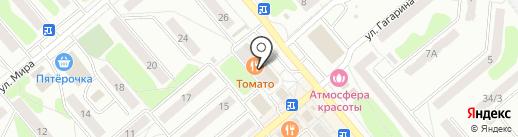 Qiwi на карте Щёкино