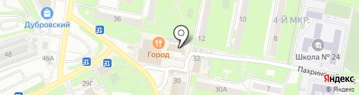 Страховое бюро на карте Подольска