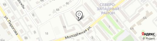 Завхоз на карте Щёкино
