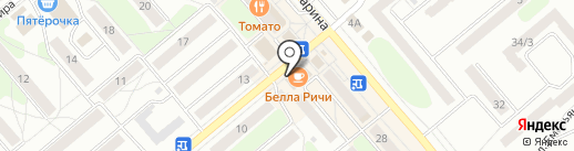 Респект на карте Щёкино
