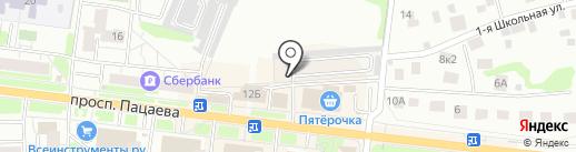 ГСК Родник на карте Долгопрудного