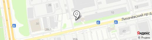 Манн и Шредер Руссланд на карте Долгопрудного