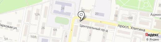 Подвальчик на карте Первомайского