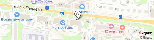 Comepay на карте Долгопрудного