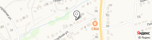 Барсуковский на карте Барсуков