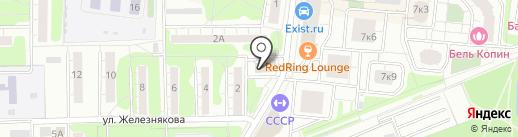 Pizza-pub на карте Долгопрудного