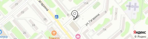 Магазин детской обуви на карте Щёкино