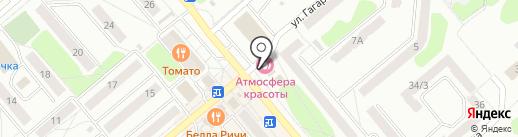 Градус на карте Щёкино