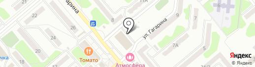 Магазин яиц на карте Щёкино