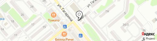 Аптека от склада на карте Щёкино