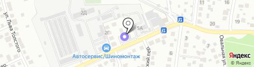 УРБОС на карте Климовска