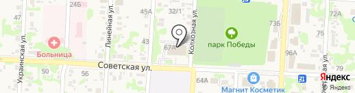 Детская библиотека №5 на карте Анапы