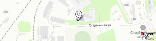 Арбалет на карте Щёкино