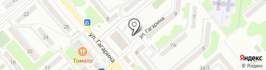 Ателье на карте Щёкино