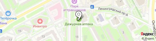 Магазин табачной продукции на карте Подольска