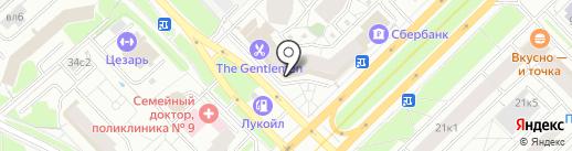 Щавель на карте Москвы