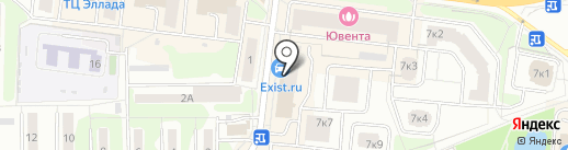 ПромВестНадзор на карте Долгопрудного