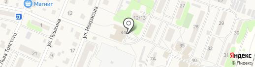 Библиотека на карте Некрасовского
