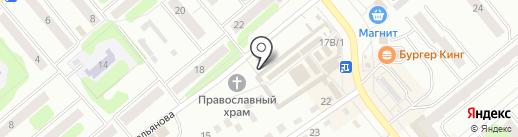 Магазин дисков на карте Щёкино