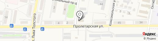Отдел государственной статистики в г. Щёкино на карте Первомайского