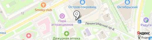 Магазин молочной продукции на карте Подольска