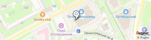 Садовод на карте Подольска