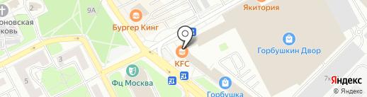 Слим Тайм на карте Москвы