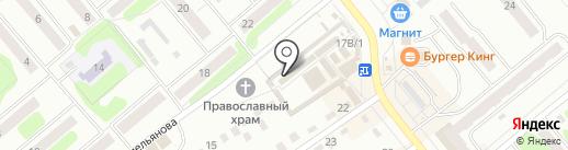 София на карте Щёкино