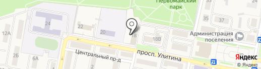 Гостиный двор на карте Первомайского