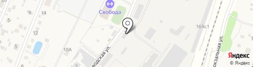 Мастера резьбы на карте Некрасовского
