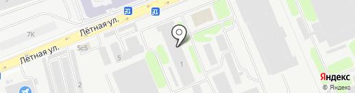 Geniuspark на карте Долгопрудного