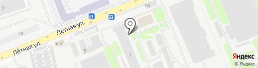 Аква-марин на карте Долгопрудного