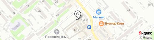 Магазин пультов на ул. Лукашина на карте Щёкино