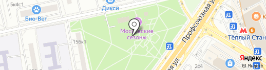 Магазин мяса на карте Москвы