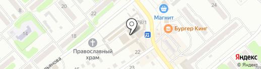 Магазин товаров для дома и ремонта на карте Щёкино