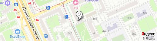 Можайская Земля на карте Москвы