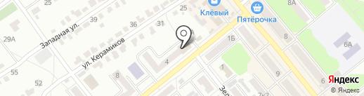 Банкомат, Минбанк, ПАО на карте Щёкино