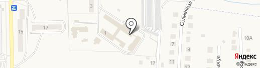 Первомайский дом-интернат для престарелых и инвалидов на карте Первомайского
