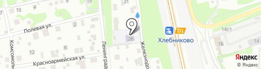 Детский сад №15 на карте Долгопрудного