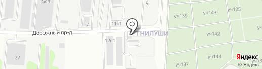 Ассортимент Авто на карте Долгопрудного