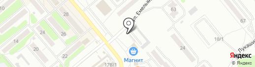 СОЛОДОВНЯ на карте Щёкино