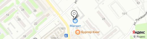 Шторы на карте Щёкино
