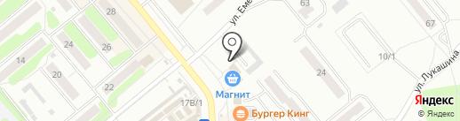 Магазин штор и текстиля для дома на карте Щёкино