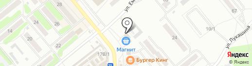 Мультиплей на карте Щёкино