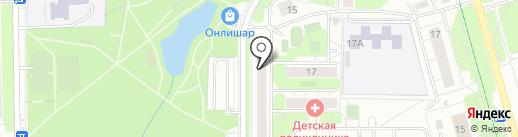 Магазин детской и подростковой одежды на карте Долгопрудного