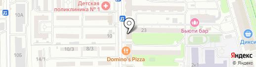 Общественная палата г. Долгопрудного на карте Долгопрудного