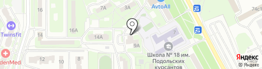 Free Style на карте Подольска